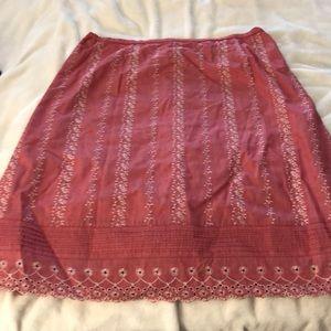 4/$30 SALE! EUC 16 Garnet Hill skirt